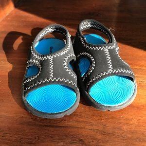 Garanimals Infant Blue Baby Sandals Size 3